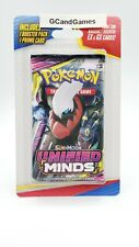 3 Booster Packs Pokemon Unified Minds Plus 1 Promo Card 10 Cards per Pack for sale online
