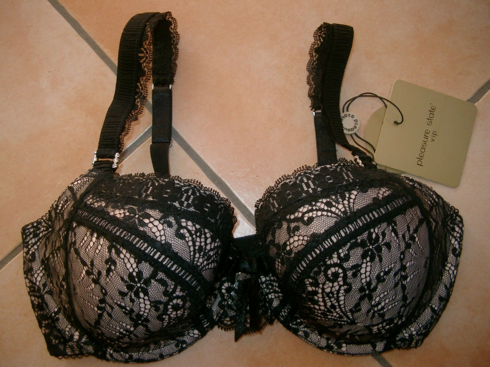 Pleasure State Dessous wattierter BH