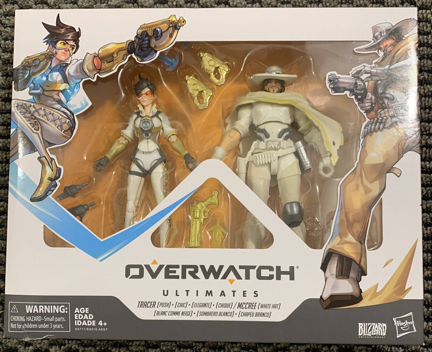 """Hasbro Overwatch Ultimates-traceur et McCree Double Pack ACTION FIGURE 6/"""""""