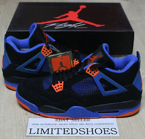 c9e5b80ca19774 NIKE AIR JORDAN 4 IV RETRO CAVS KNICKS 308497-027 US 11 bred white ...