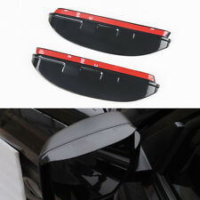 2x Rear View Side Mirror Rain Eyebrow Shade Shield Trim Cover for Patriot 11-16