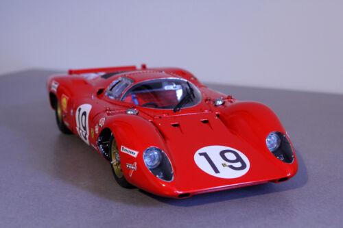 FFSMC Productions Decals 1//32 Ferrari 312P 18 et 19 des 24 Heures du Mans 1969