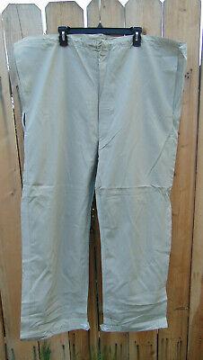 "38-46/"" waist,30/"" inseam,NOS Swedish Military Off-White Snow Camo Pants,Size C50"