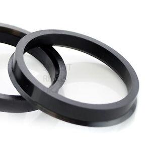 67.1mm Wheel Spacer Set di 4 Lega Ruota Hub Centric NUOVO 4 rubinetto di anelli 71.5mm