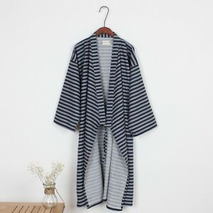a7396a159f Image is loading Men-Japanese-Bathrobe-Kimono-Pajamas-Yukata-Dressing-Gowns-