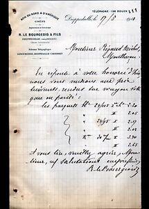 DIEPPEVALLE-76-SCIERIE-BOIS-du-NORD-amp-d-039-AMERIQUE-034-R-LE-BOURGEOIS-034-en-1911