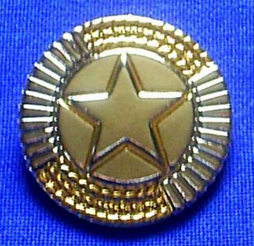 Arrivant à Concho texas étoile star monture en or 4 cm avec vis Lone star