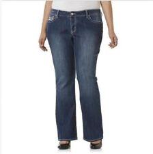 e695b1f4747 item 6 Simply Emma Women s Plus Pants Embellished Pockets Bootcut Jeans  Tara Wash 24W -Simply Emma Women s Plus Pants Embellished Pockets Bootcut  Jeans Tara ...
