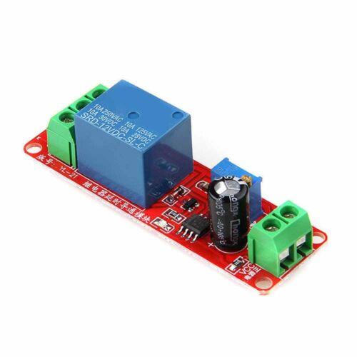 3Pcs  DC Delay Relay Shield NE555 Timer Switch Module Adjustable 12V #HA2