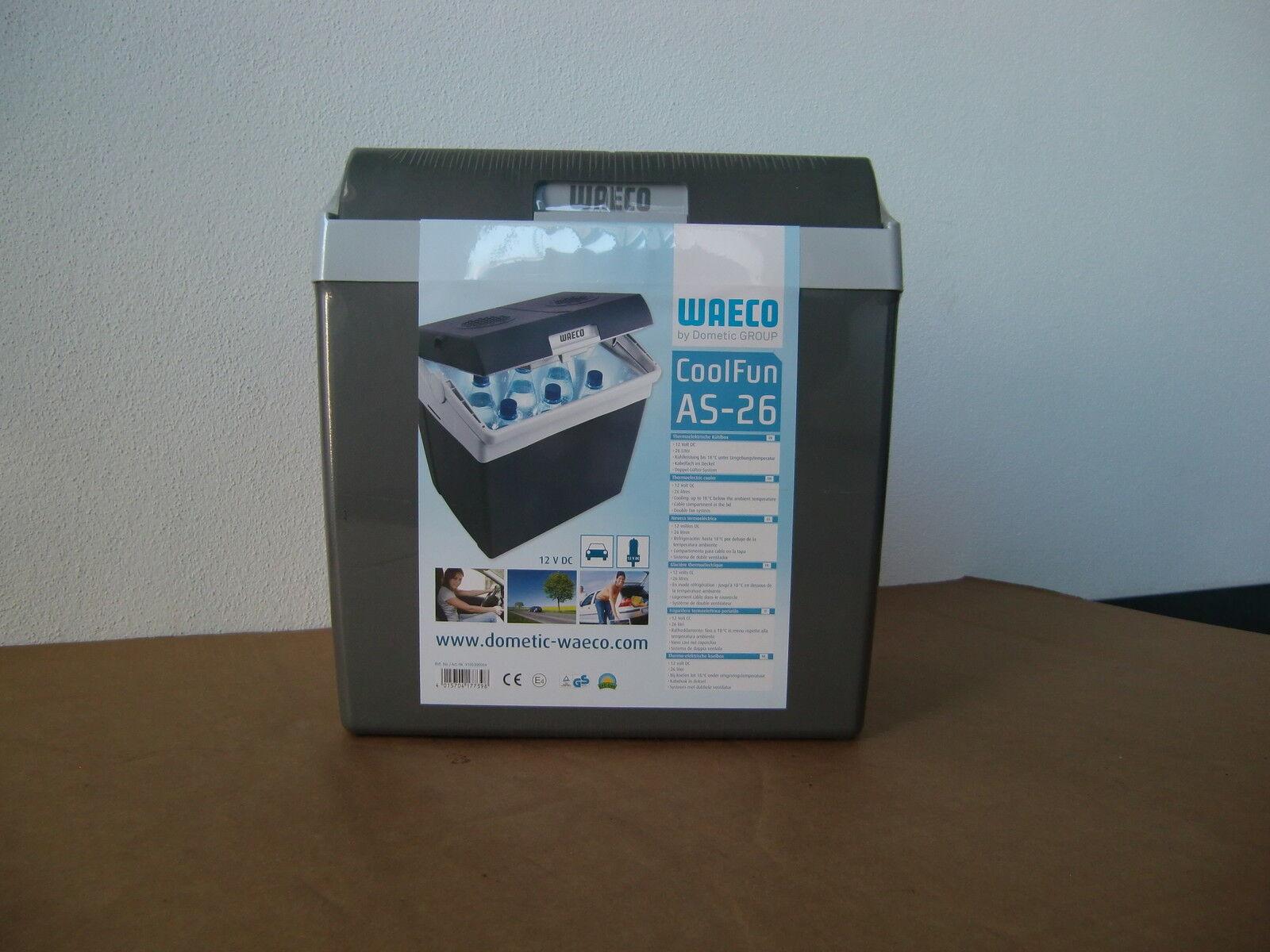646 Waeco Kühlbox elektrisch AS-26 26 Liter Fassungsvermögen - NEU