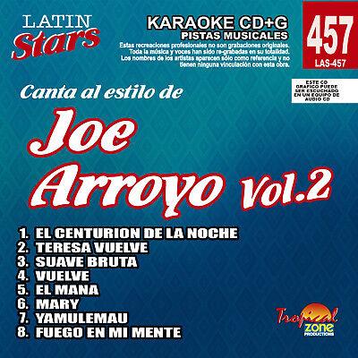 2 Delaying Senility Karaoke Latin Stars 457 Joe Arroyo Vol Karaoke Cdgs, Dvds & Media