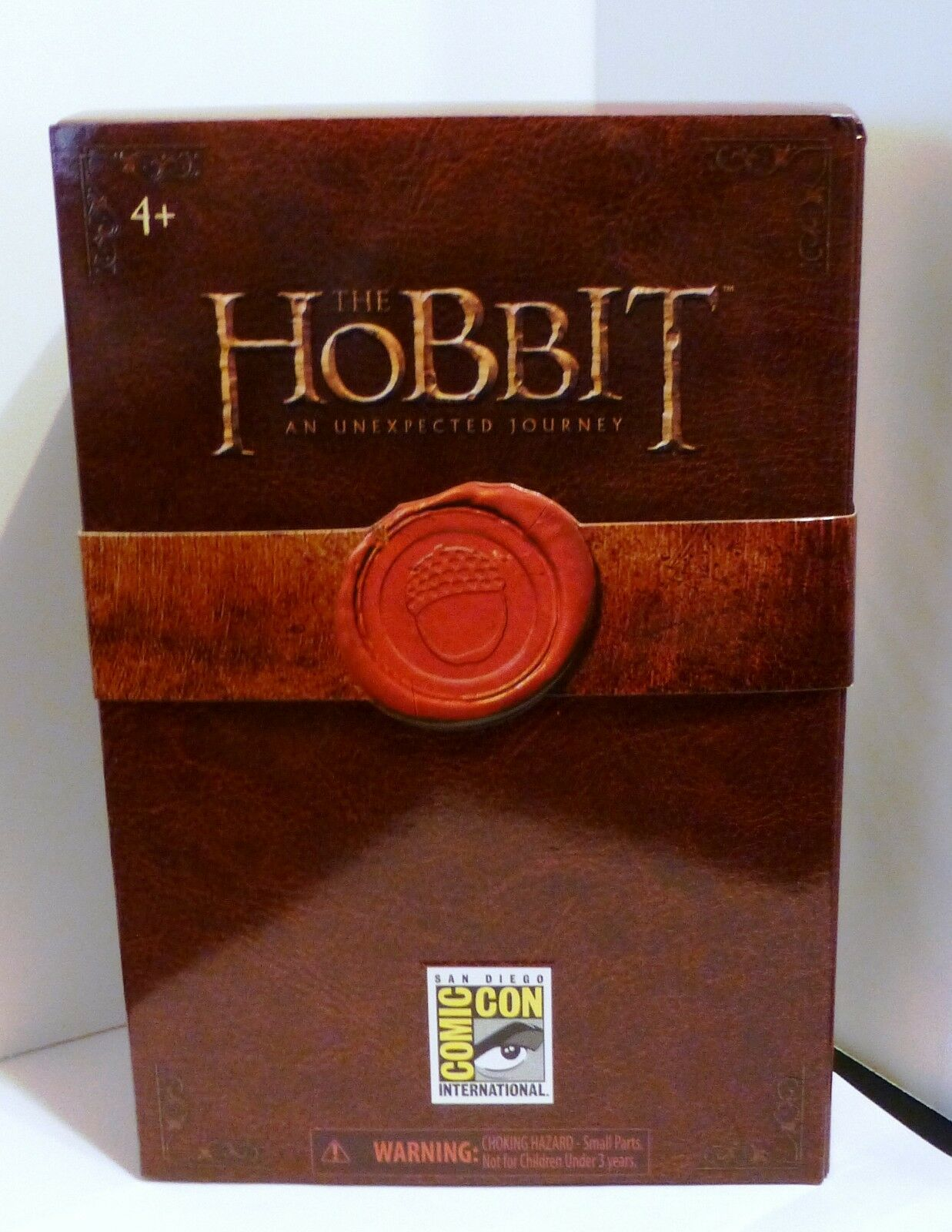 RARE LORD OF THE RINGS LOTR HOBBIT SDCC INVISIBLE BILBO COMIC CON ONLY 3100 fatto
