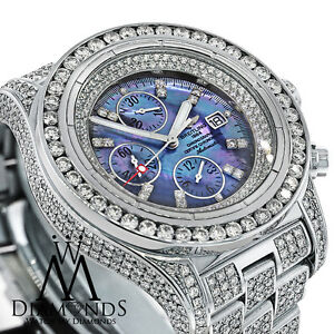 68b6b44cbb2 Image is loading Breitling-Super-Avenger-A13370-Mother-of-Pearl-Dial-