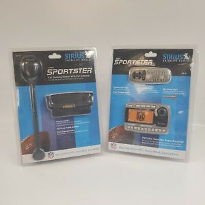 Sirius Satellite Radio Sportster Portable Radio SP-R1 & SP-C1 NIP
