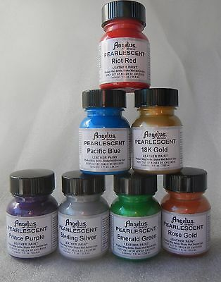 Angelus Pearlescent Leather Acrylic