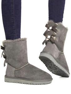 aliexpress scarpe a buon mercato consegna gratuita Dettagli su Stivaletti eschimesi stivali donna con pelliccia scarponcini  caldi scarpe neve
