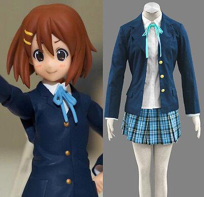 K-ON Hirasawa Yui Akiyama Mio Ritsu Cosplay Kostüm costume Uniform Anzug Lolita