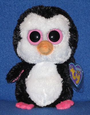 "PADDLES the 6/"" PENGUIN with NEAR MINT MINT TAG TY BEANIE BOOS BOO/'S"