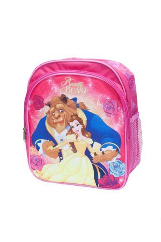 Disney Sac A Dos Filles La Belle /& La Bête Rose 30 cm