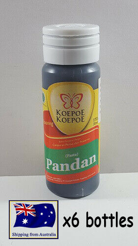 6x Butterfly Pandan Essence 30ml Food Flavouring Coloring Baking Beverages