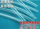 Soft Heat Shrink Tubing Sleeving Cable Earphone Protect Cable Transparent x 5 M