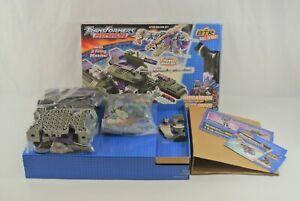 Lego Transformers Armada 7058 Megatron & Cyclonus 2003 Hasbro Open Box Ages 6+