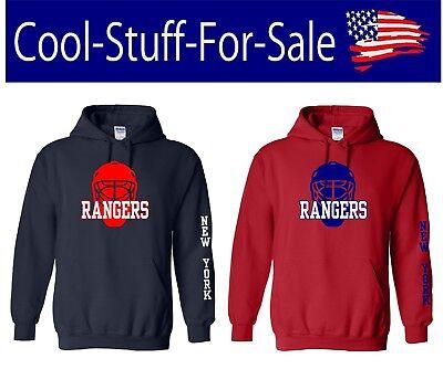 the best attitude 3d997 377e3 New York Rangers Hockey Pullover Hooded Sweatshirt | eBay