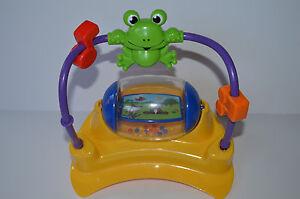 e1db54d9c Baby Einstein Musical Motion Activity Jumper Spinner Mirror Frog Toy ...