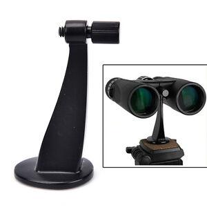 Universal-Black-Full-Metal-Adapter-Mount-Tripod-Bracket-For-Binocular-TelescYNUK