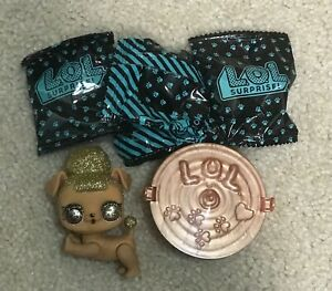 LOL Surprise Pets Series 3 Wave 2 PUP BEE Gold Ball Rare,color change brand new