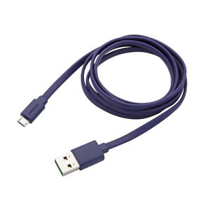 RadioShack-2604500-Flat-4-Foot-Micro-USB-Cable-Purple-IL-PL1-4584-2604500