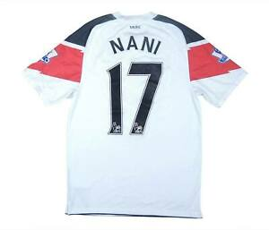 Manchester United 2010-11 Authentic AWAY SHIRT NANI #17 (OTTIMO) S