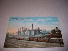 1910s BLAST FURNACES NATIONAL TUBE CO. McKEESPORT PA. ANTIQUE POSTCARD