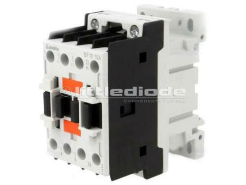 BF1810A024 Contactor 3-pole LOVATO ELECTRIC 24VAC NO x3 18A DIN