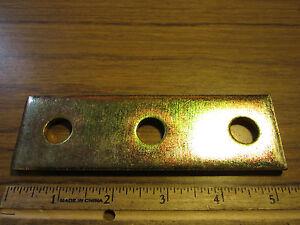 UNISTRUT FLAT POST BASE STEEL P2072 HG 4 HOLE