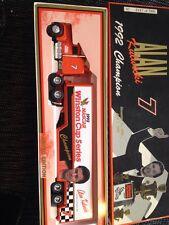 New ERTL 1992 Winston Cup Champion #7 Alan Kulwicki 1/64 Hauler Transporter