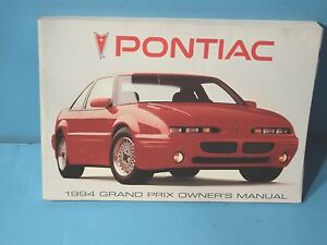 94 1994 pontiac grand prix owners manual ebay rh ebay com 1993 Pontiac Grand Prix 1996 Pontiac Grand Prix