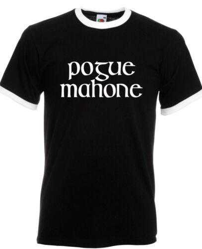RINGER T-SHIRT FOL Branded Irish funny rude McGowan gaelic POGUE MAHONE