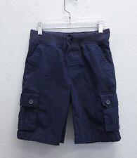 GYMBOREE Boys Blue Cotton Cargo Pocket Athletic Shorts - 8