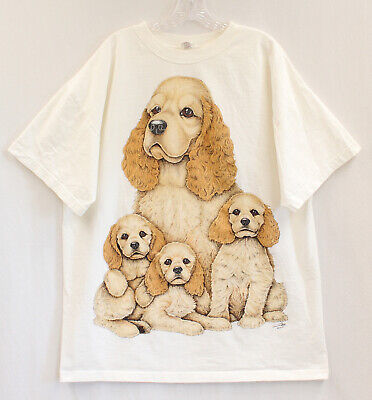 /'Cocker Spaniel-/'They say Money can/'t buy../' Ladies Dog T-shirt