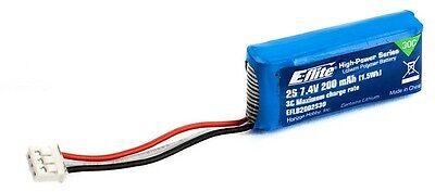 E-flite EFLB2002S30 200mAh 2S 7.4V 30C LiPo Battery Blade MCPX BL