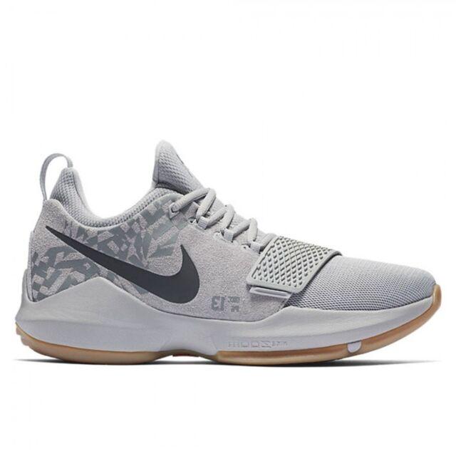 941e447e19c9 Nike PG 1 Baseline Mens Basketball Shoes 10 Wolf Grey 878627 009 for ...