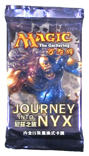 Factory Sealed New Magic Magic the Gathering abugames chinois-S Journey Into Nyx Booster Pack