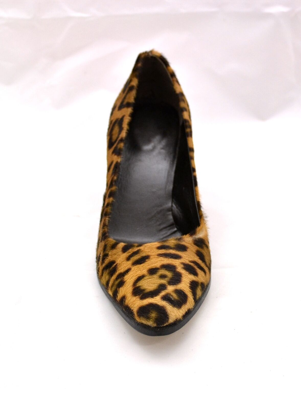 Schuhe Damens VERA DECOLLETE' ARTIGIANALI VERA Damens PELLE CAVALLINO MACULATO MADE IN ITALY 40513b