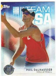 2016-Topps-US-Olympic-Team-USA-Silver-56-Phil-Dalhausser-Volleyball