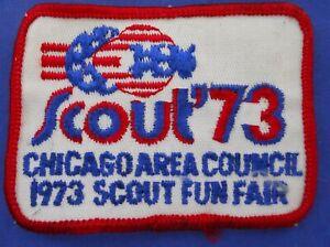 Vintage-B-S-A-Boy-Scout-Chicago-Area-Council-1973-Scout-Fun-Fair-Patch