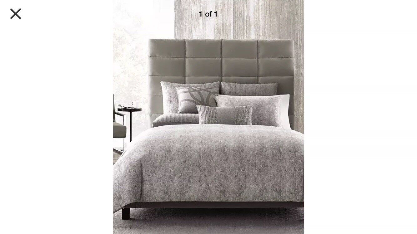 6Pc Brand New Hotel Collection Woven Jacquard ECLIPSE Queen  Bedding Set