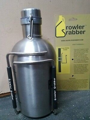 NEW Growler Grabber Carry Glass or SS Growler on your Bike