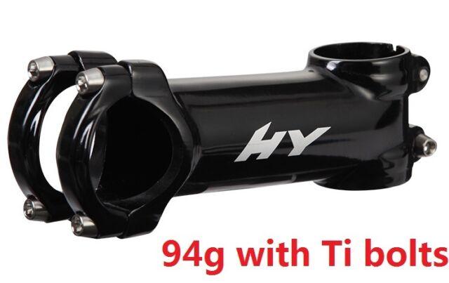 Road Bike MTB High Rise Upright Handlebar Stem 1 1//8 For Cycle 31.8mm