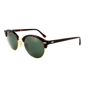 76642a0e9d Image is loading Ray-Ban-Sunglasses-Clubround-4246-990-Red-Havana-